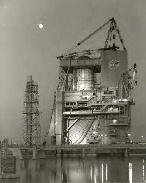 1966 Moon,Saturn V,Apollo,history,test standNASA